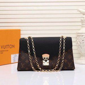 💖Louis Vuitton Pallas clutch Monogram bags